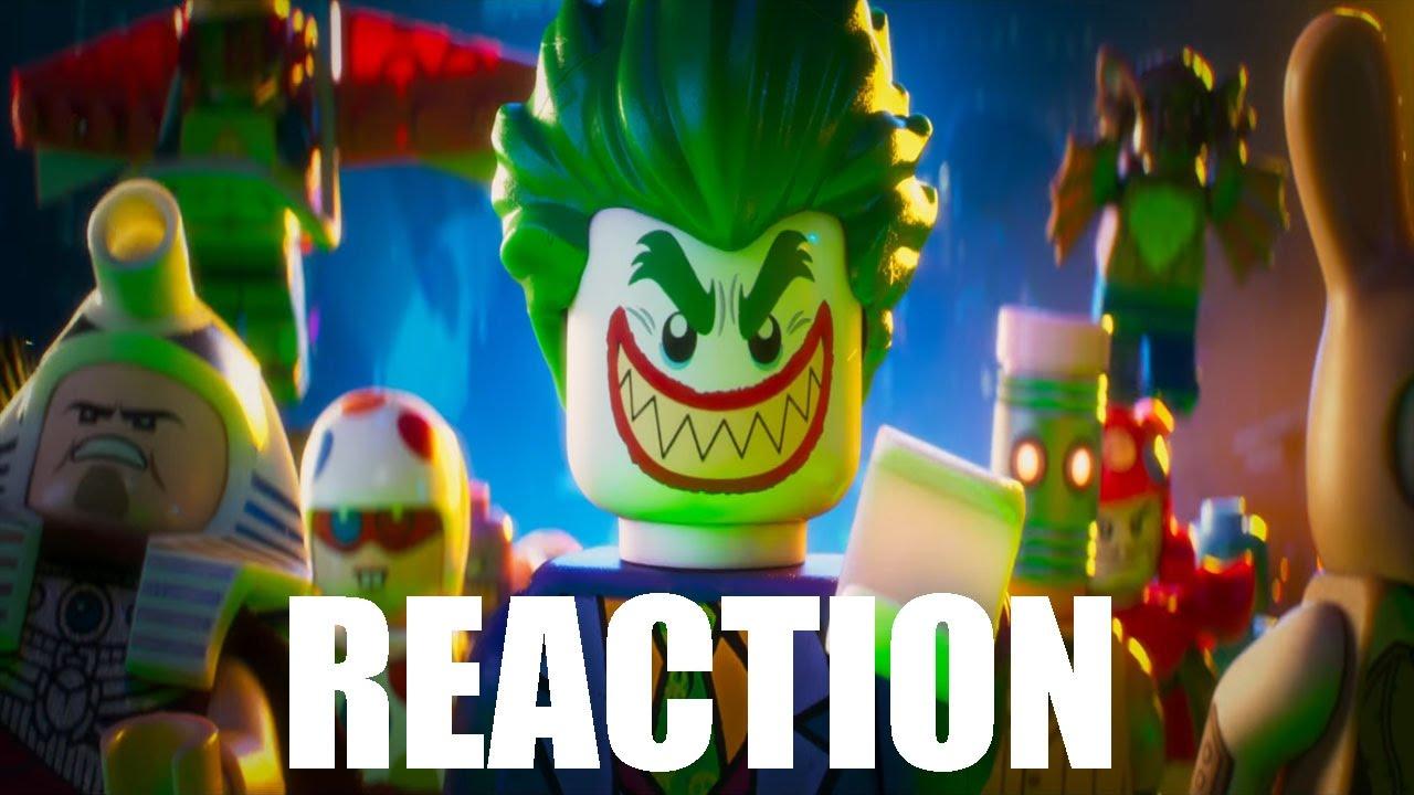 The LEGO Batman Movie  Trailer #4 Reaction Review - YouTube