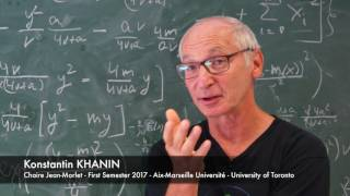 Interview at Cirm:  Konstantin Khanin