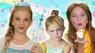 Princess Finger Family Song | SillyPop