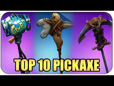 TOP 10 🏅 BESTE PICKAXE SKINS   Fortnite Battle Royale Best Of Deutsch German
