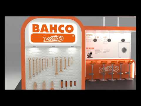 Stand Design for Bahco @ Spe Offshore Europe 2017