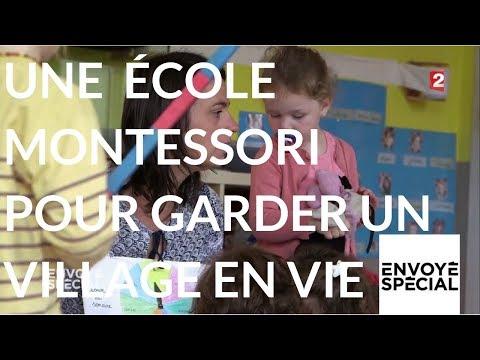 Envoyé spécial. Une école Montessori pour maintenir Voivres en vie - 16 novembre 2017 (France 2)