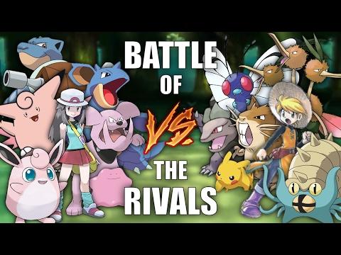 Battle of the Rivals #8 (GREEN vs YELLOW) - Pokemon Battle Revolution (1080p 60fps)
