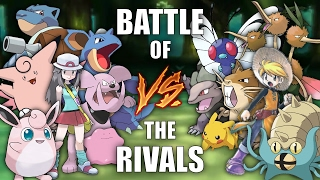 Battle of the Rivals #8 (GREEN vs YELLOW) - Pokemon Battle Revolution (1080p 60fps)