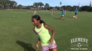 Element Soccer School - Session One Begins