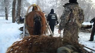 видео Конно-санный тур Снежный Крака. Зимний отдых на Южном Урале. Новогодние туры.