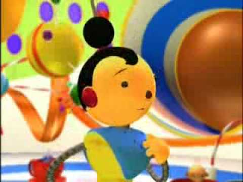 Rolie Polie Olie The Baby Bot Chase Part 5 Youtube