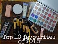 Top 10 favourite products of 2018 | My favourite | Products and Purchases
