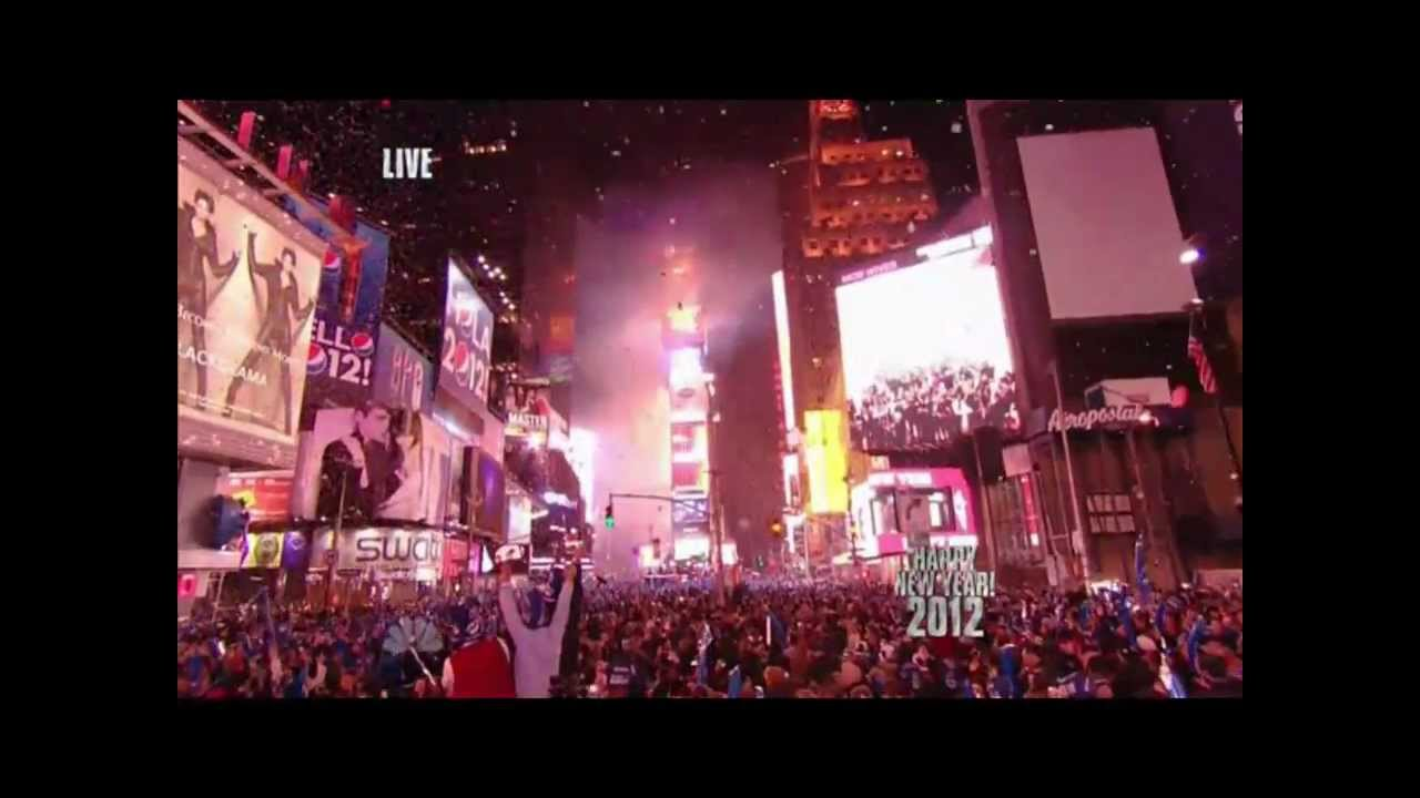Happy New Year 2012 | New Years Eve live on NBC