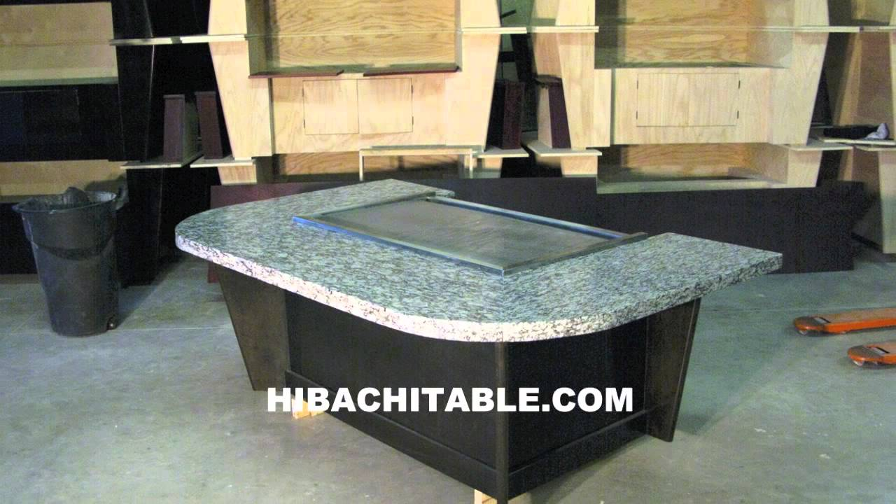 Teppan Tables Hibachi Tables Teppanyaki Tables Youtube