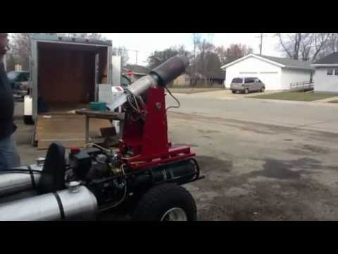 Jet Engine Powered Extreme Mobile Fogger & Smoke System By STURM