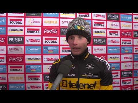 """Corné Van Kessel: """"Fantastisch om TV-cross te winnen"""" (Soudal GP Hasselt)"""