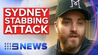 BREAKING NEWS:  Sydney stabbing witness describes holding down suspect | Nine News Australia