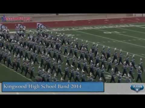 Kingwood High School Band Humble ISD Marching Festival 2014
