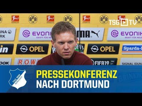 Die Pressekonferenz nach dem Bundesligaspiel bei Borussia Dortmund