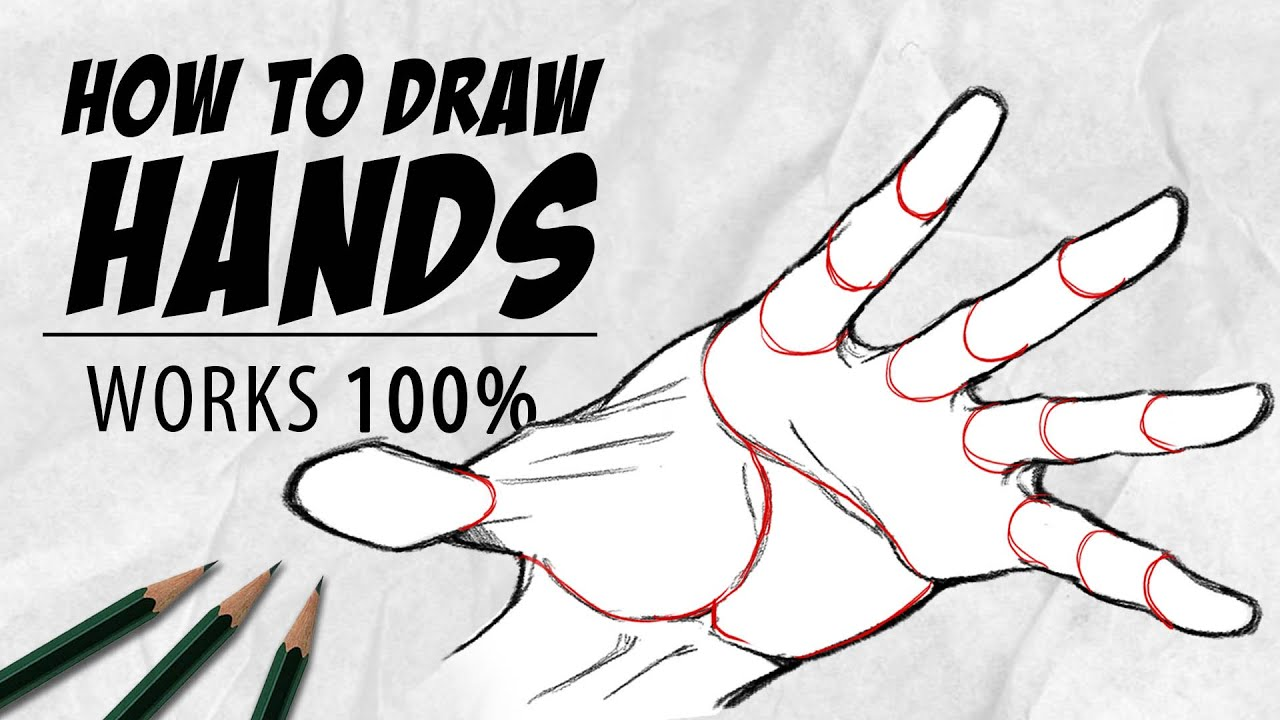 How to draw Hands in 10 Minutes | Tutorial | Drawlikeasir