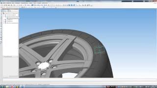 Компас 3D уроки - как повернуть деталь на заданый угол (3D модель)
