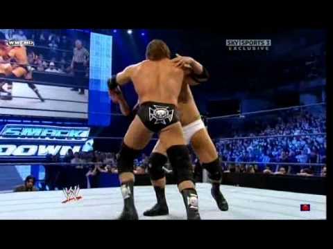Triple H vs Great Khali vs Vladimir Kozlov SmackDown 01.30.09