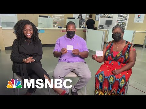 MSNBC Town Hall Participant Gets Second Dose Of Moderna Vaccine