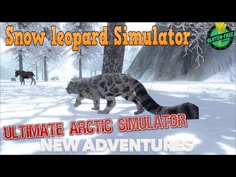 🐆Snow Leopard Simulator-Part 1-Ultimate Arctic Simulator-By Gluten Free games-IOS/Android