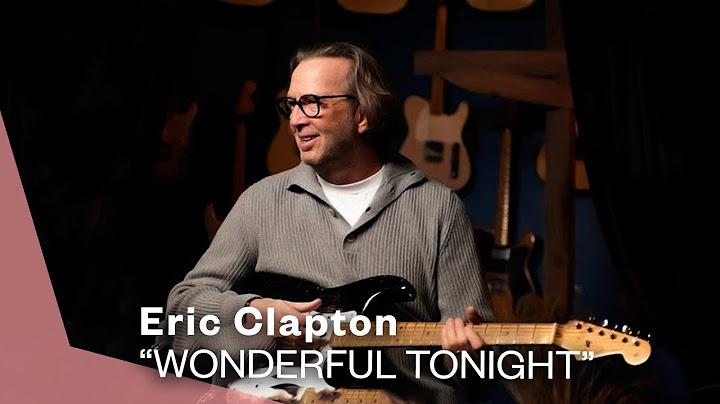 eric clapton  wonderful tonight live video  warner vault