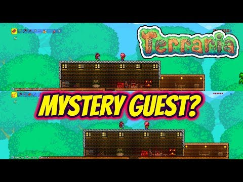 Terraria | Father And Son - Episode 1 - Mystery Guest?
