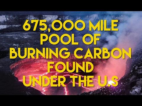 675,000 Mile Pool Of Burning Carbon Found Beneath U.S