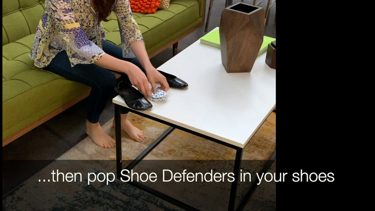 How to use Shoe Defenders