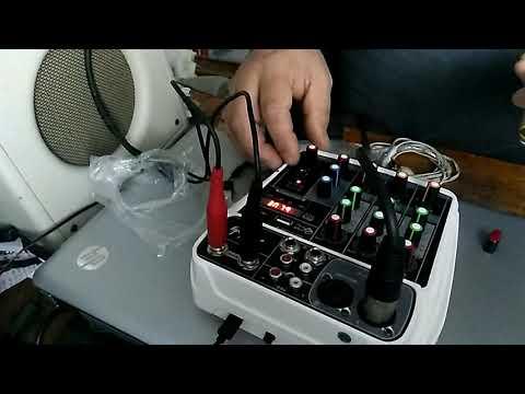 Микшерный пульт на 4 канала с USB, MP3, Micro SD, Bluetooth, Phantom +48, Delay...