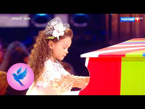 Агафья Корзун, Елисей Мысин, И.-C. Бах, концерт F moll, 'Обыкновенное чудо' Синяя птица 5 сезон
