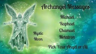 Archangel Reading - Michael, Chamuel, Raphael, Metatron (Challenge/Love/Healing/Spirutal Path)