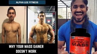 My Carnivor Mass Doesnt work but my friends does - why is that - body building - mass gainer
