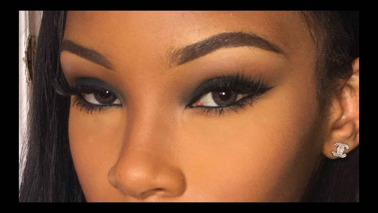 How To Easy Smokey Eye - Youtube-6934