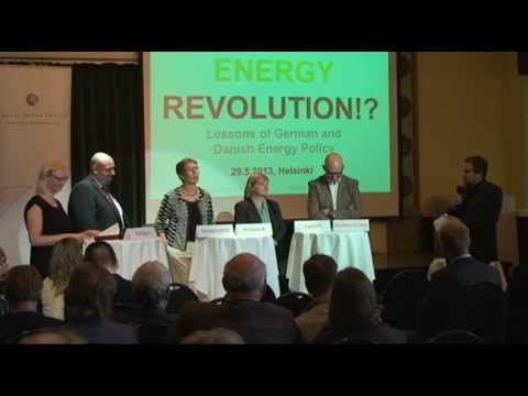 Energy Revolution!? Lessons from German and Danish Energy Policy: Panel debate