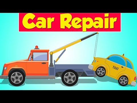 Tow Truck Garage | Taxi | Street Vehicle | Car Repair for Kids