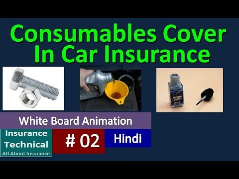 Consumables cover in motor Insurance