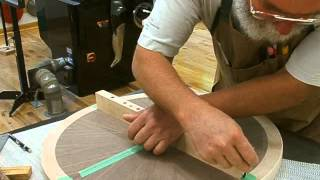 Making A Veneered Occasional Table, Part 4, Finishing: Andrew Pitts ~ Furnituremaker