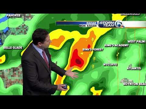 South Florida Monday morning forecast (5/14/18)