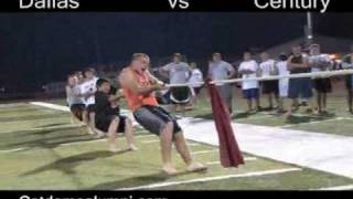 "2007 Linfield College Football Camp ""tug o"