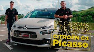 Citroen C4 Picasso: Melhor essa Minivan ou SUV?  | De carona e de perto no AutoVideos
