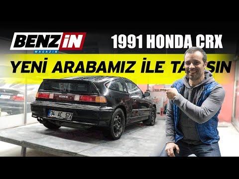 Honda CRX | Yeni Otomobilimiz Ile Tanışın