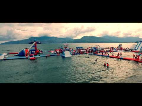 SUBIC - Inflatable Island and Subic Yacht Club