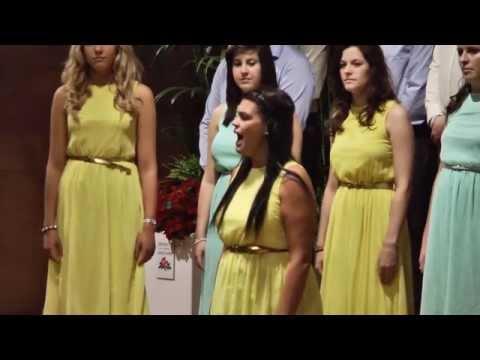 UCLan Chamber Choir - Joyful, Joyful (arr. Mervyn Warren)