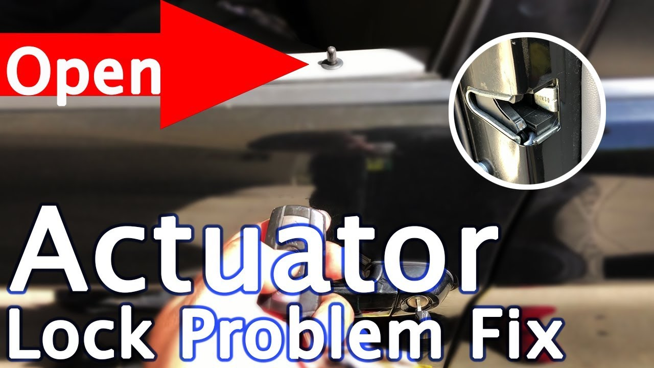 BMW Door Actuator Fixed E90 2007 3 Series 328I M3