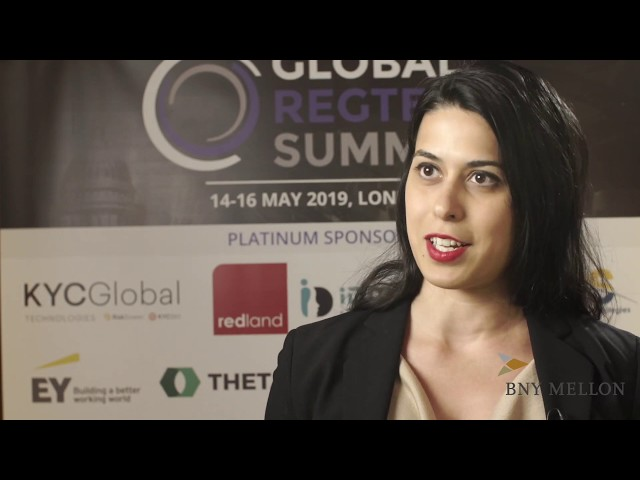 Global RegTech Summit 2019 - Interview with Mary-Jane Ajodah, BNY Mellon