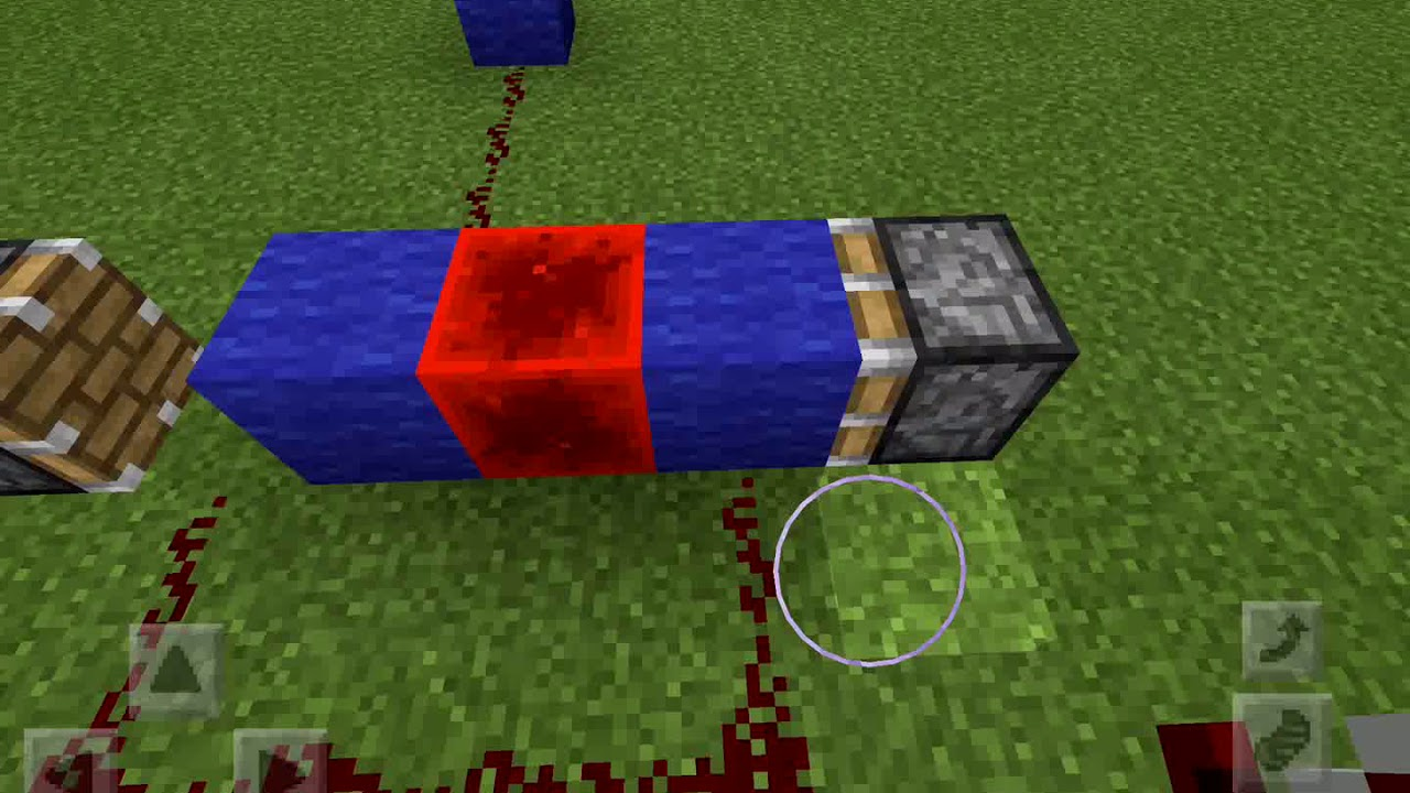 Minecraft Button Toggle Bedrock Edition Youtube Is Now Attached To The Rsnorlatch Making It A Monostable Circuit