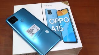 Oppo A15 Unboxing , First Look & Review !! Oppo A15 Price , Specifications & More