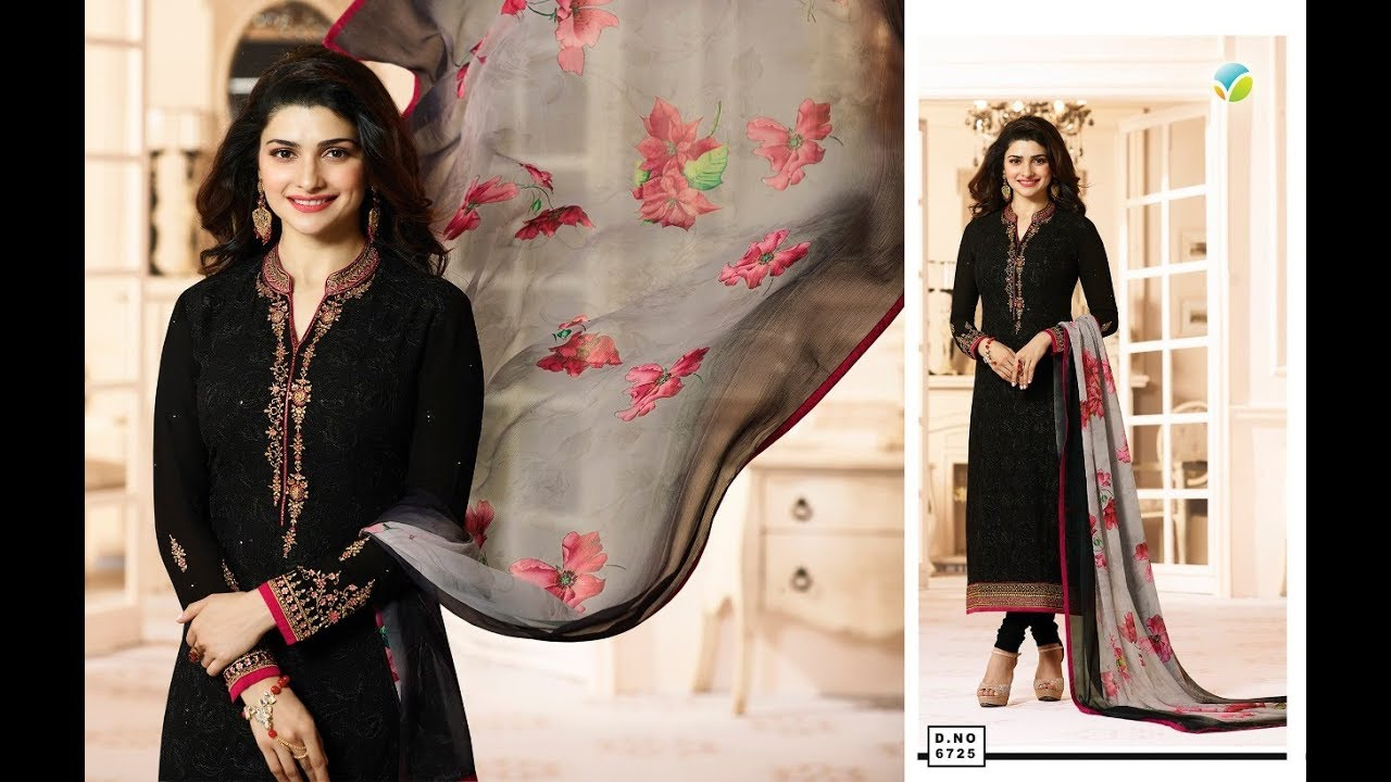 2221095c98 Latest Salwar Suits Indian Collection 2018 || Vinay Fashion || Kaseesh  Timeless