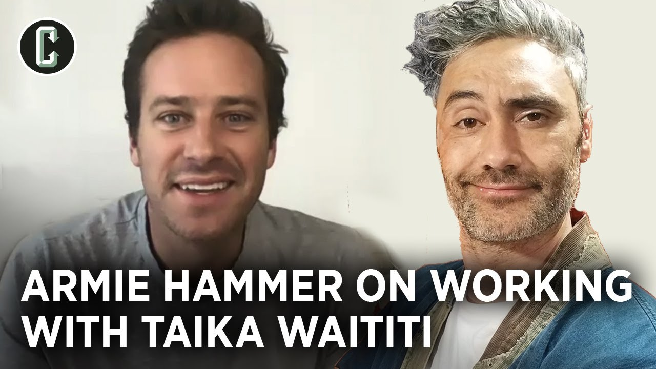 Armie Hammer on Next Goal Wins, Experiencing Taika Waititi as Director & Master Nap-Taker