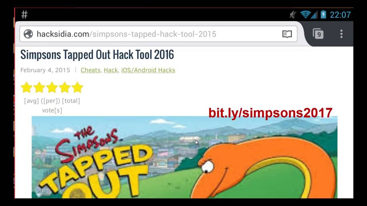 simpsons tapped out unlimited donuts iphone